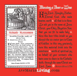 Blessing of Beer