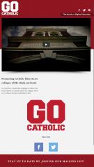 Go Catholic