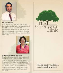 Greenwood Clinic Ave Maria 1