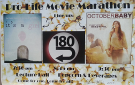 Prolife movie marathon Ave Maria University