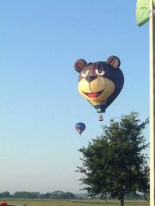Ave Maria  Bear Balloon