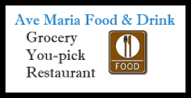 Ave Maria Food and Drink