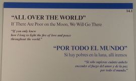 Mother Teresa Exhibit 14.1