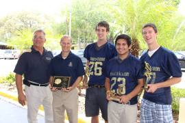 Shamrock football awards houde vega scanlon scheck