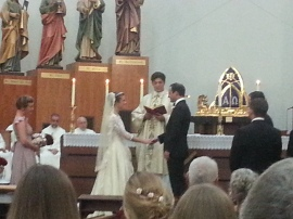 Congratulations to the new Mr. & Mrs. Philip Barrows.