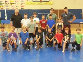 ave maria wrestling may 2014
