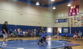 wrestlers 2014 may ave maria