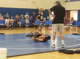 wrestling at ave maria