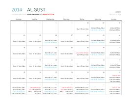 August 2014 mass times