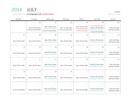 July 2014 mass times