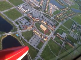 sky view of ave maria