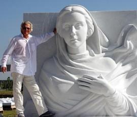 Annunciation sculptor Marton Varo